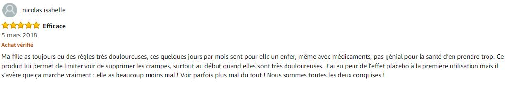 commentaire amazon Livia.